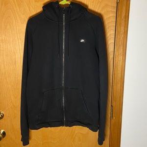 Nike Hoodie Zip up All Black